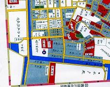 妙縁寺古地図